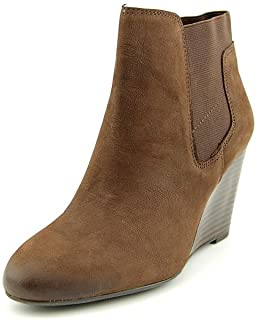 أحذية نسائية طويلة حتى الكاحل وتدي من Franco Sarto Octagon مصنوعة من جلد أكسفورد بني 10