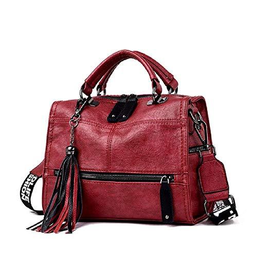 Unbekannt Leder Quaste Luxus Handtasche Frauen Taschen Designer Handtaschen Hochwertige Damen Handtaschen Für Frauen