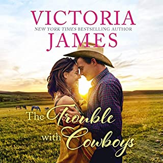 The Trouble With Cowboys audiobook cover art