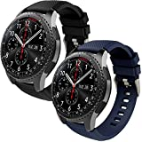 Th-some Correa para Samsung Gear S3 Frontier - Pulsera de Silicona para Galaxy Watch 46mm, Banda de...
