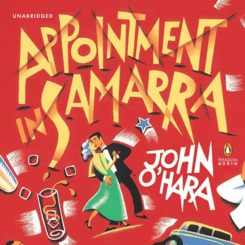 Appointment in Samarra audiobook cover art