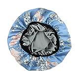 Alnorm Gorro de Noche de Satén de Seda Sombreros para dormir para mujeres...