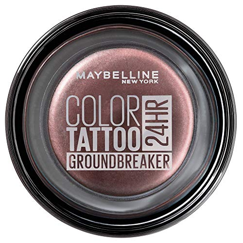 Maybelline New York Color Tattoo Creme-Gel Lidschatten, 230 Groundbreaker, Rot, 8 G