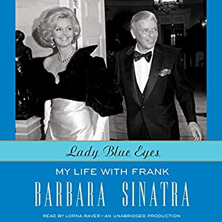 Lady Blue Eyes audiobook cover art