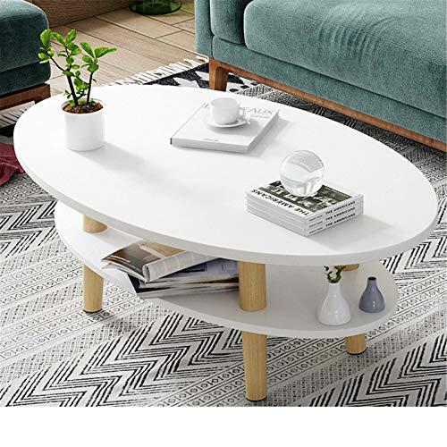 Mesa de sofá Nórdica Minimalista Bolsa de almacenamiento de ahorro de espacio para el sofá Coctel de mesa lateral Mesa Auxiliar de café para el Hogar ( Color : Blanco , Size : 100x50x120cm )