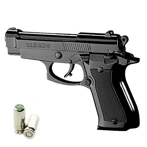 Pistola a Salve KIMAR Beretta 85 Cal.8 | Top Firing | Nera