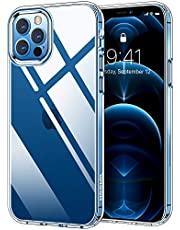 HOOMIL iPhone 12 Pro Max Phone Case, Shockproof Protective Slim Thin Cover for iPhone 12 Pro Max Clear Case