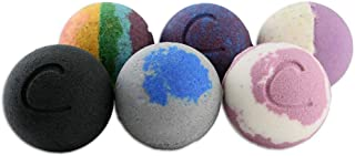 Cosset Bath Bombs - Bath Bomb Therapy Set for Calming Your Mind and Soothing Your Body - 8 Ounce - Pack of 6