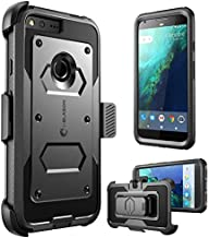 i-Blason Armorbox Case for Google Pixel XL 2016 Release, [Built-in Screen Protector] [Full Body] [Heavy Duty Protection ] Shock Reduction Bumper Case for Google Pixel XL 5.5 inch (Black)