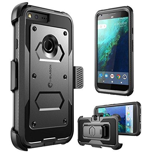 Google Pixel XL Case, [Armorbox] i-Blason built in [Screen Protector] [Full body] [Heavy Duty Protection ] Shock Reduction/Bumper Case for Google Pixel XL 5.5 inch 2016 Release (Black)