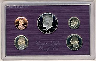 1987 S Clad Proof 5 Coin Set in Original Government Packaging Proof