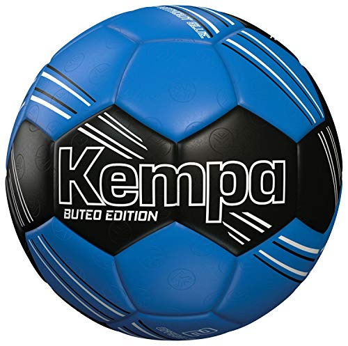 Kempa Buteo Limited Edition kempablau/schwarz, Größe:3