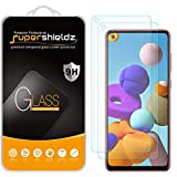 (2 Pack) Supershieldz for Samsung Galaxy A21s Tempered Glass Screen Protector, Anti Scratch, Bubble Free