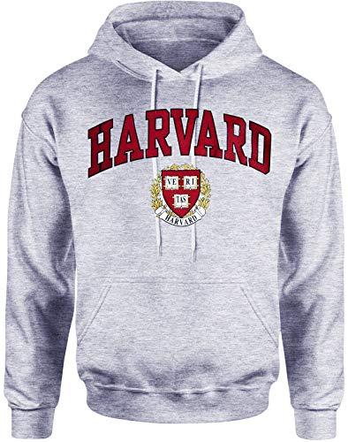 Officially Licensed by Harvard University Harvard Camiseta Sudadera con Capucha Camiseta Universidad Derecho de la Empresa Ropa Prendas de Vestir