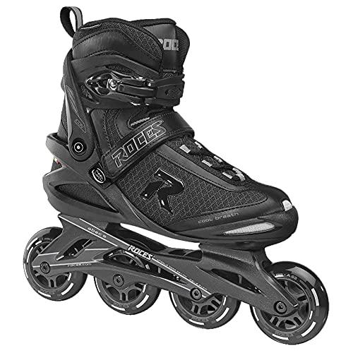 Roces Icon Mens Inline Skates BLK/CHRCOAL 003 12