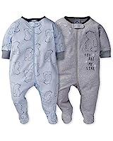 Gerber Baby Boys' 2-Pack Sleep 'N Play, Hello Bear, 6-9 Months