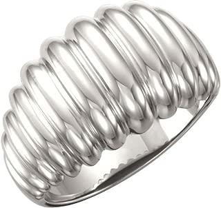continuum silver ring