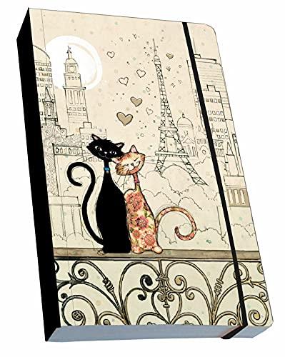 KIUB Nota libro flexible A6 gato Te