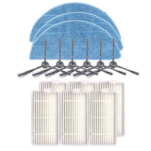 Kobay-Staubsaugerzubehör Mopp-Seitenbürstenfilter-Ersatzzubehör for die Kehrmaschine Ilife V5SPRO V50
