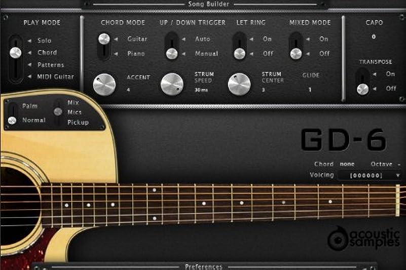 マージファイナンスセントGD-6 Acoustic Guitar -ギター音源-