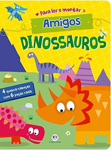 Amigos dinossauros: Para ler e montar