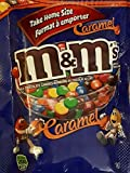 M&M's Caramel Milk Chocolate Candies, 185g/6.5oz Bag, (Imported from Canada)