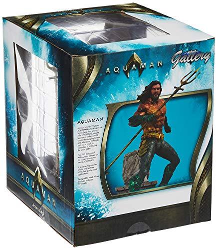 Diamond- DC Movie Gallery Comics Estatua Aquaman, Color surtido (DIAMAUG182575) 2