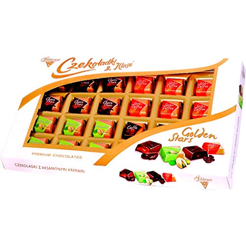 Golden Stars Chocolate Candy Set, 400 g – Pack van 1