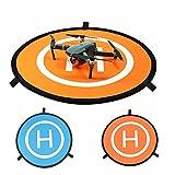 Xmipbs Universal Foldable Drone Landing Pad 2 Sides Used for DJI Mavic Pro DJI Phantom 3 Phantom 4 Inspire 1