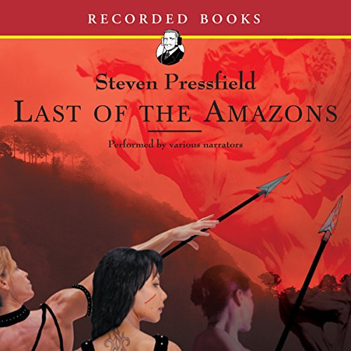 Last of the Amazons audiobook cover art