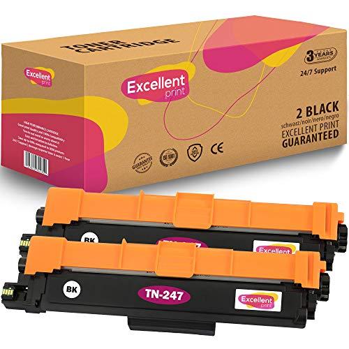 Excellent Print TN-247 Compatible Cartucho de Toner para Brother HL-L3210CW HL-L3230CDW HL-L3270CDW MFC-L3710CW MFC-L3730CDN MFC-L3750CDW MFC-L3770CDW DCP-L3517CDW