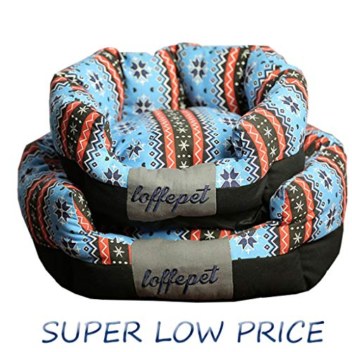 Self-Warming Pet Sofa Lounger Bed Super Soft Breathable Dog Couch Mattress Machine Washable Kennel Deluxe Cat Bed