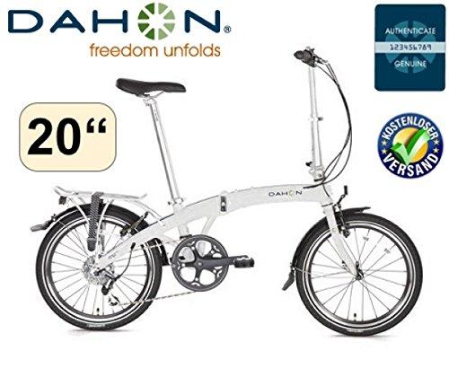 Dahon Faltrad MU D8 20Zoll/8Gang/weiss/DeluxePaket