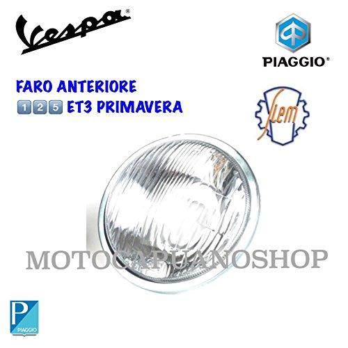 Koplamp voor van glas SIEM Vespa 125 ET3