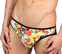 girlie panties for men with floral pattern