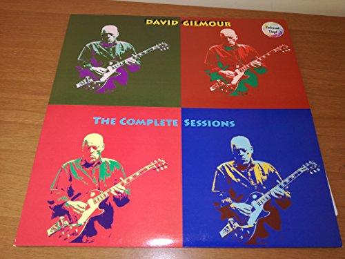 DAVID GILMOUR -THE COMPLETE SESSION -2 LP COLOURED SPLATTER, LIMITED 400 COPY