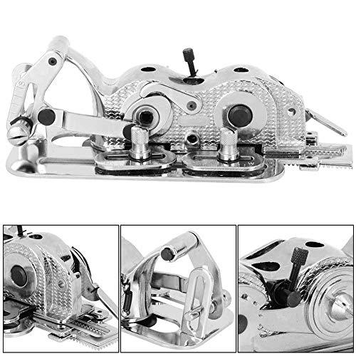 wosume 【 】 Accesorio para máquina de Coser, Accesorio para Agujero de botón de máquina de Coser Agujero de Bloqueo para máquina de Coser Industrial