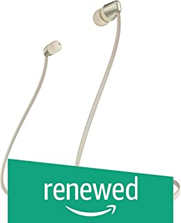 (Renewed) Sony WI-C310 Wireless Neck-Band Headphones with up to 15 Hours of Battery Life - Gold