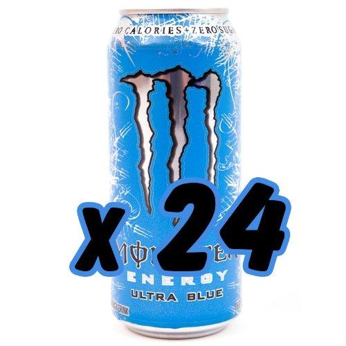 Monster Ultra Blue 473ml x 24pack