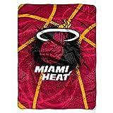 NBA Miami Heat 'Shadow Play' Raschel Throw Blanket, 60' x 80'