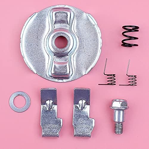 SYCEZHIJIA Kit de arandela de Tornillo de fricción de Retorno de Resorte de trinquete de guía de Arranque de Retroceso para Motor de Motor de podadora Honda GX110 GX120 GX140 GX160