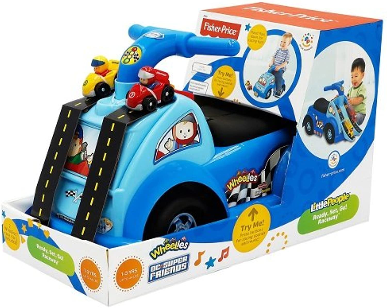 Fisher-Price–fp8266–Früherziehung, Krabbeldecke Progressif, Fahrzeug für Kinder