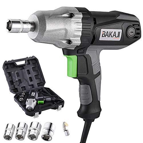 Bakaji Atornillador eléctrico neumático de impacto 4050 330 Nm, conexión 1/2
