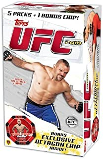 ufc 2010 trading cards
