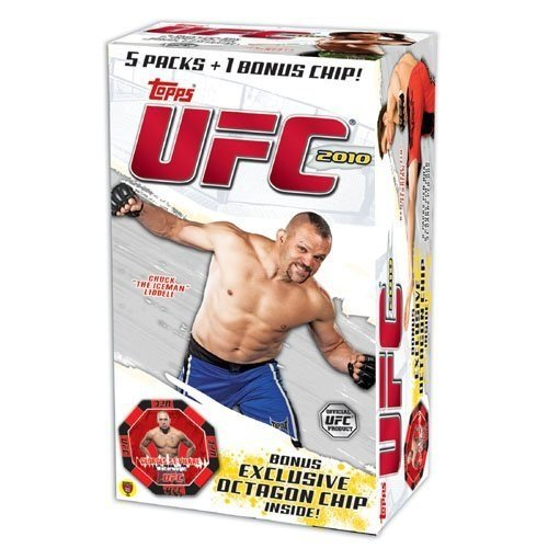 Topps 2010 UFC Series 4 Exclusive Factory Sealed Blaster Box+Octagon Chip!