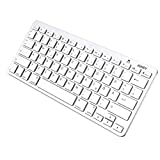 Aukey Bluetooth Keyboard German Layout QWERTZ Wireless Keyboard for iOS Devices iPhone/iPad/Mac