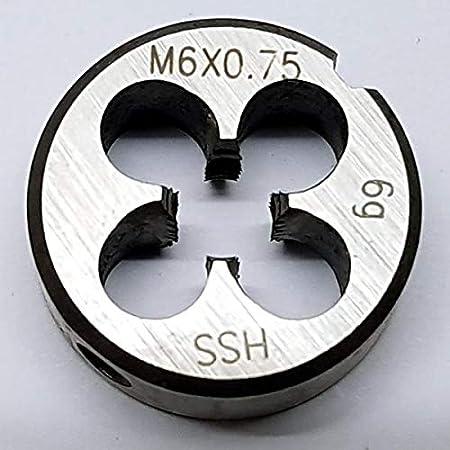 Schneideisen M5 x 0,5 metrisches Feingewinde EU Produktion HSS ISO Norm