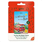 Yoto Children Friendly Audio Music Card – THE WHEELS ON THE BUS by BBC Audio Card for Kids for Yoto Player and Yoto App – Toy For Boys and Girls Age 0–5 years