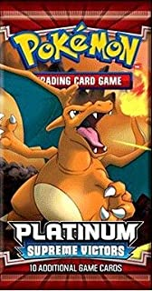 Pokemon Card Game Platinum Supreme Victors Booster Pack [Toy]