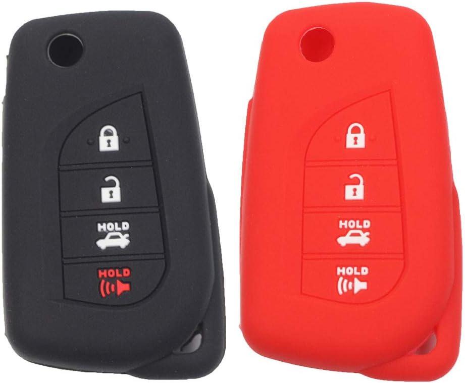 For 2019-2020 Toyota Corolla Sedan Hatchback Aluminum Case Cover Car Key Holder